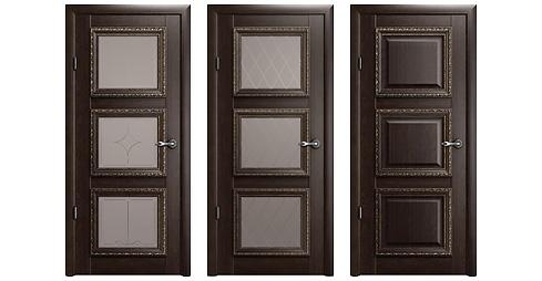 межкомнатная дверь Версаль-3 Орех