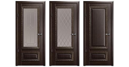 межкомнатная дверь Версаль-1 Орех