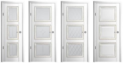 межкомнатная дверь Версаль-3 белый