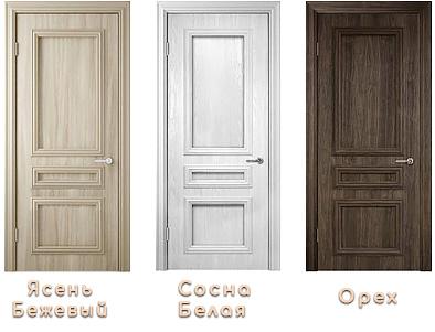 межкомнатная дверь Неаполь глухое